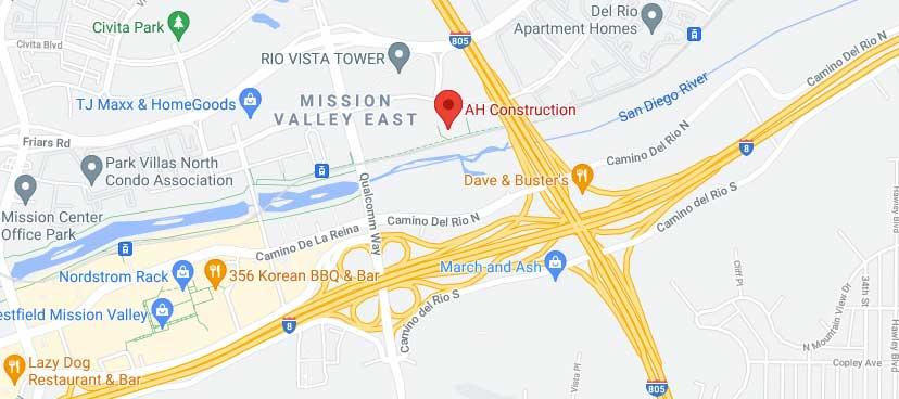 AH Constrution - Google Map
